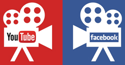 Youtube and Facebook video production